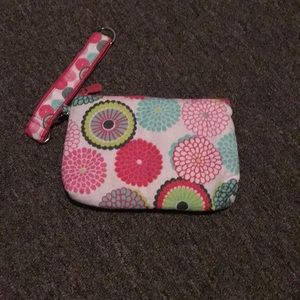 Thirty-one pouch and key key fob
